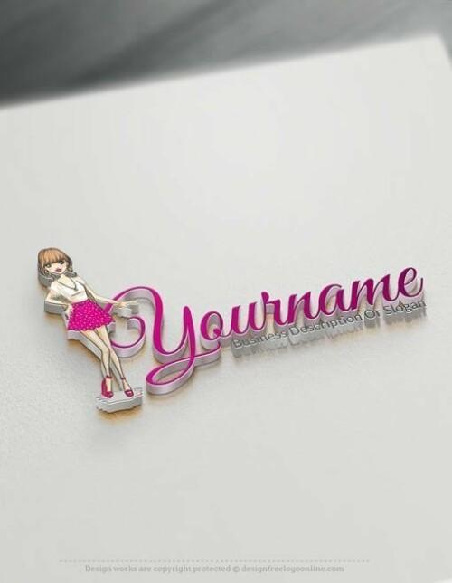 fashion-girl-Online-Logo