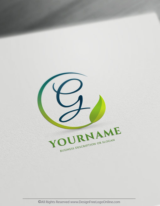 Build a brand like a pro with our online logo maker! Instantly customize your new vector leaf logo branding with original free logo design templates