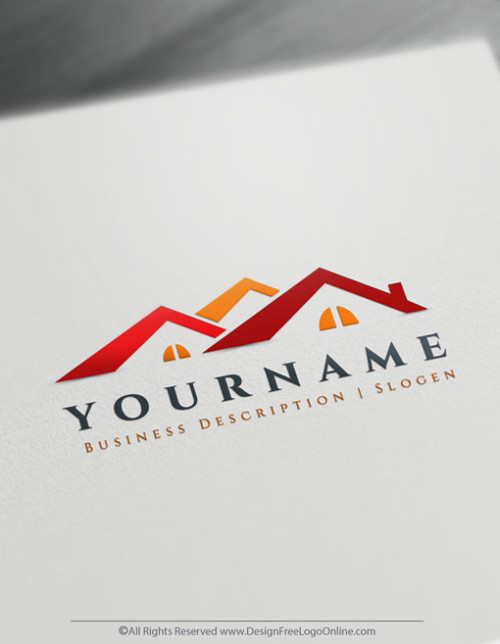 Create your own Roofing Logo Design Online