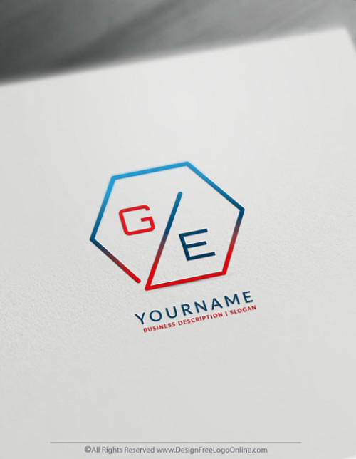Polygon Logo Template - Create a Minimalist Logo For Free
