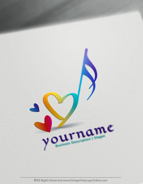 Customize Your Own Online Music Logo Design Ideas.