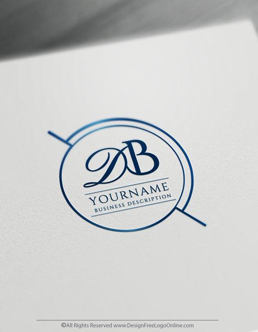 Design Initials Stamp Logos Online