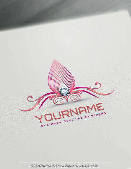 Diamond Logo Makin Done Easily With Online Logo Maker. Create a Jewelry logo.