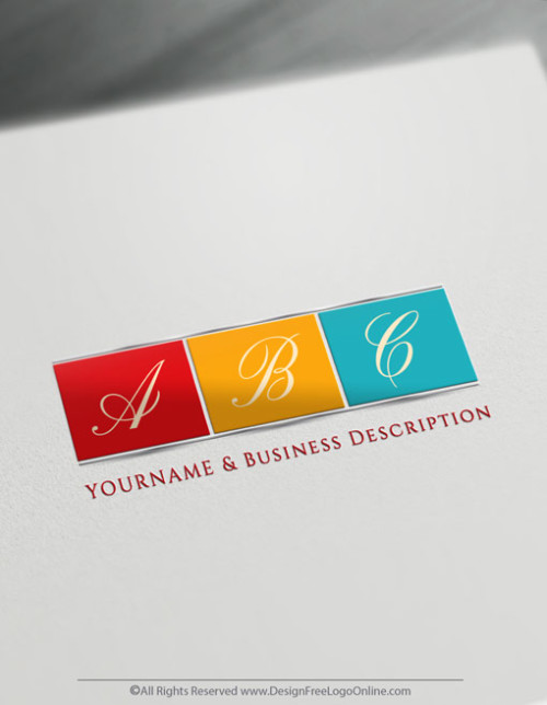 Design your own colorful logo ideas with Free Letter Logo Maker.