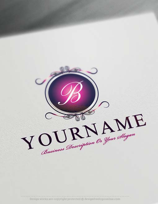 Design Free Logo: Luxury Mirror Alphabet Logo