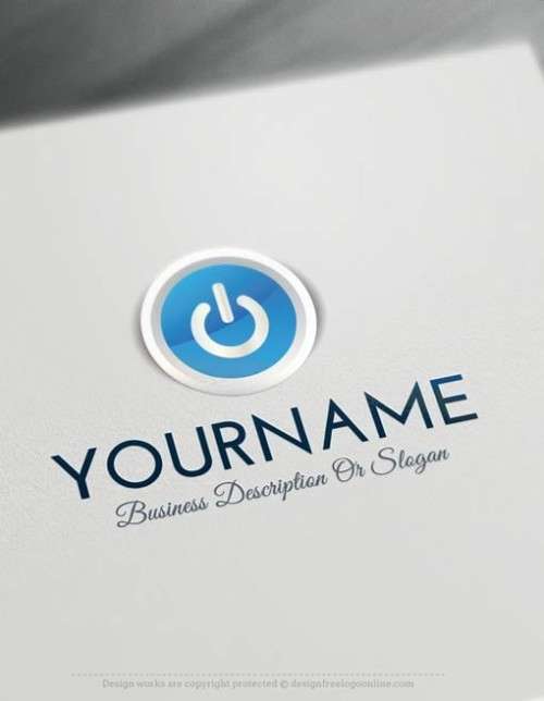 Easily customize this Computers Logo Templates brand yourself with our free logo maker.