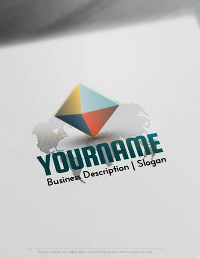 Design Free Logo - Pyramid World Logo Templates