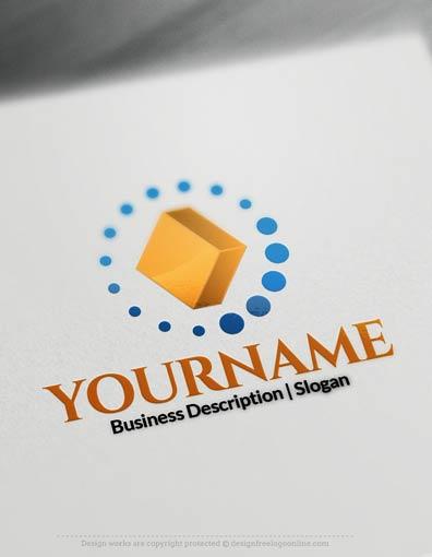 Design Free Logo 3d Diamond Online Logo Templates