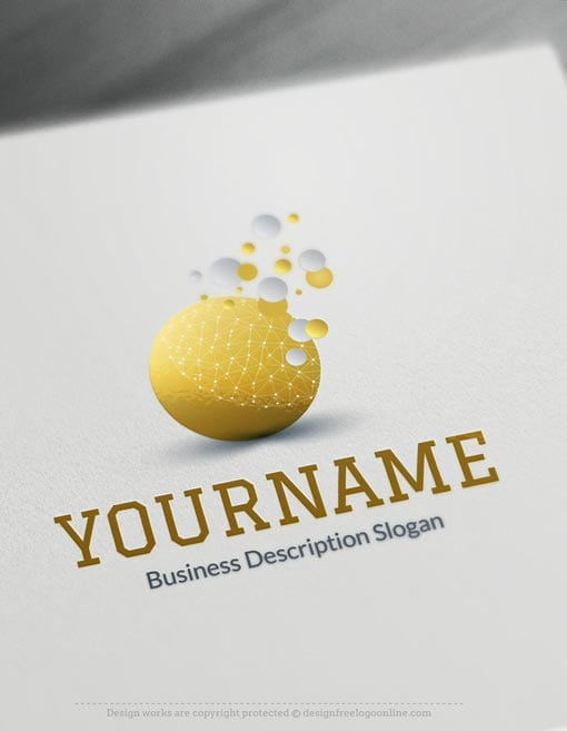 Business-Bubbles-Online-Logo-Templates