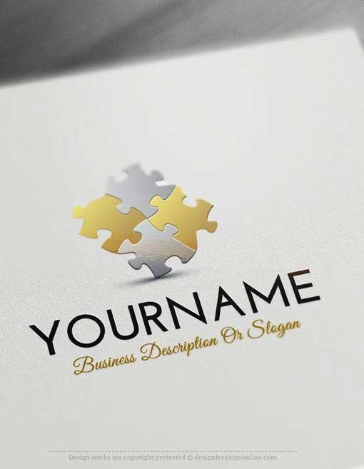 Create a Logo Free - Puzzle Logo Templates - photo#39
