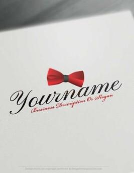 Create-a-Logo-Free-Bow-tie-Logo-Templates