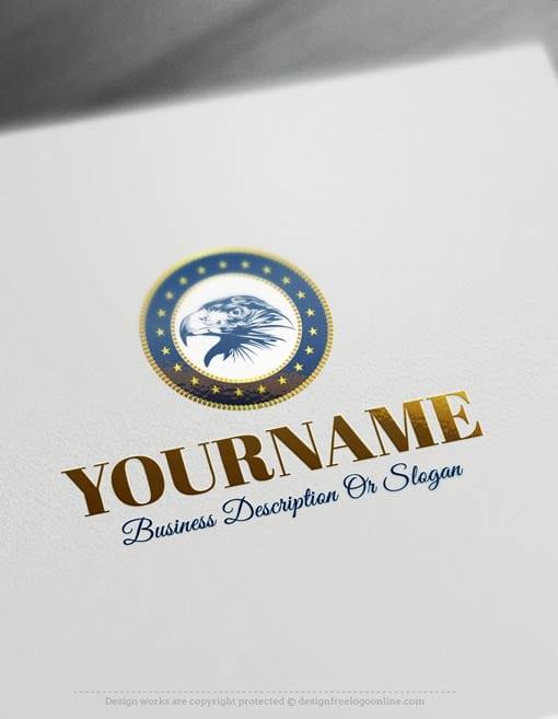 Create-a-Logo-Free-Eagle-USA-Logo-Templates