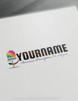 Create-a-Logo-Free-House-Painting-logo-template