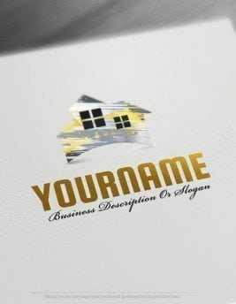 Create-a-Logo-Free--House-logo-templates