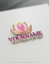 Create a Logo Free – Lotus Flower Logo Templates
