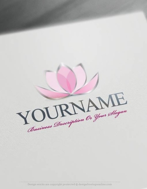 Create-a-Logo-Free-Lotus-Flower-Logo-Templates