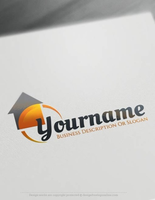 Create-a-Logo-Free---Realty-House-logo-templates