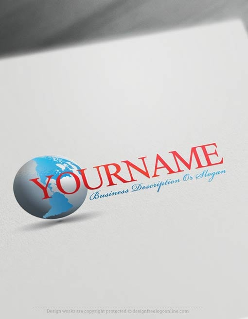 Create-a-Logo-Free-simple-globe-Logo-Templates