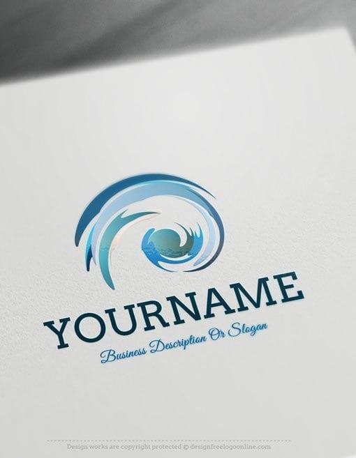 Create-a-logo-Free--Colorful-spiral-Logo-Templates