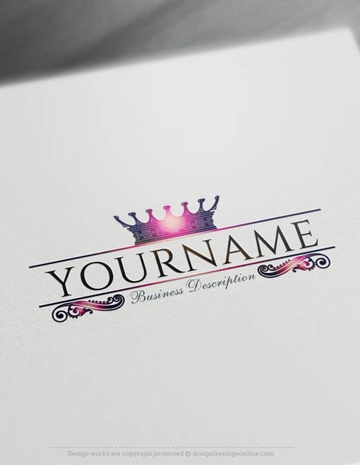 Create-a-logo-Free--Crown-Logo-Templates