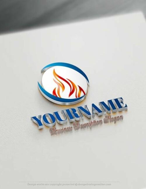 Fire Logo Maker - Flame Logo Design - fire logos