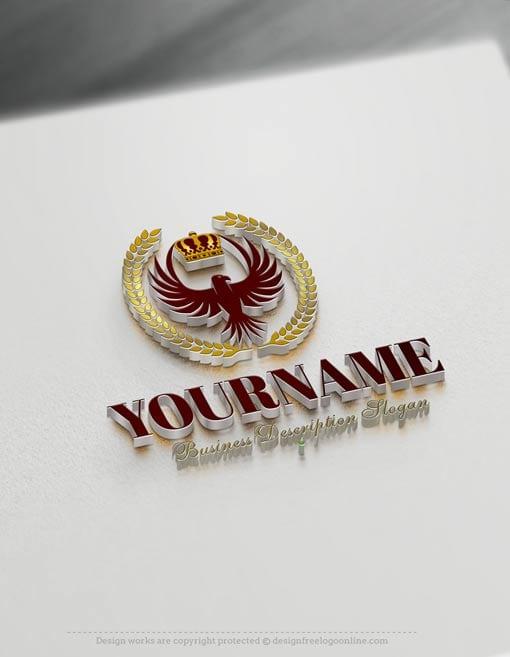 Design-Free-Eagle-King-Logo-Template