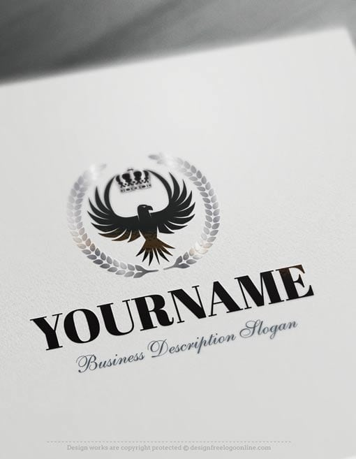 Design-Free-Eagle-King-Logo-Templates