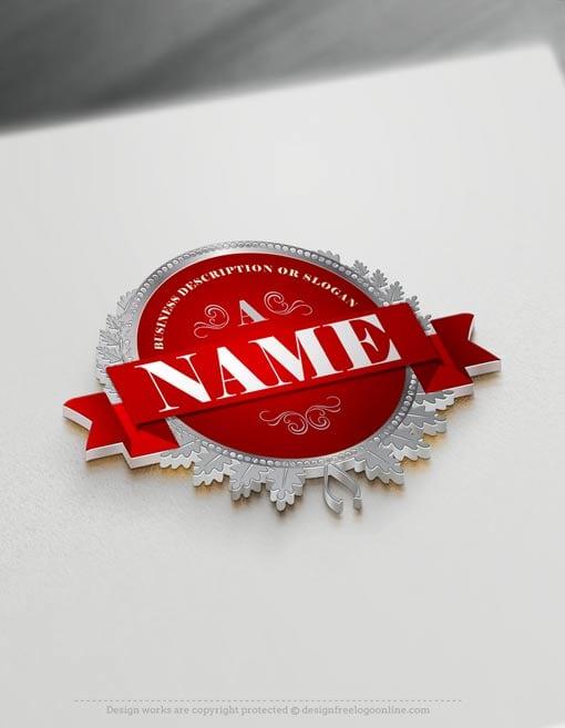 Design Free Luxury Alphabet Stamp Logo Template