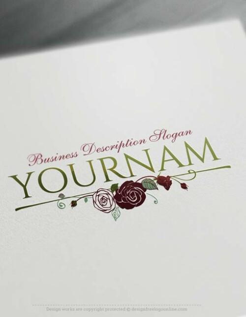 Design-Free-Vintage-Roses-Logo-Template
