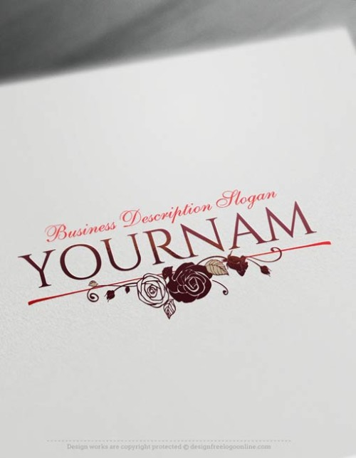 Design-Free-Vintage-Roses-Logo-Templates
