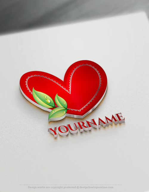 Design Your Own Free Heart Logo Ideas