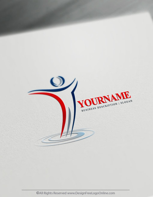 Instantly customize your own cool human logo ideas with the business logo maker