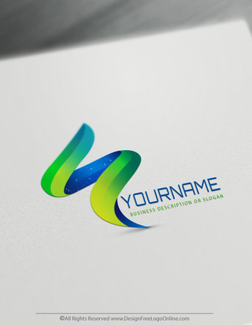 Free 3D Logo Maker - Abstract Logo Templates - Web Logos