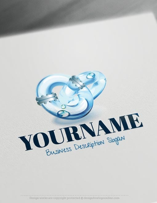 Industry-Water-Logo-Template