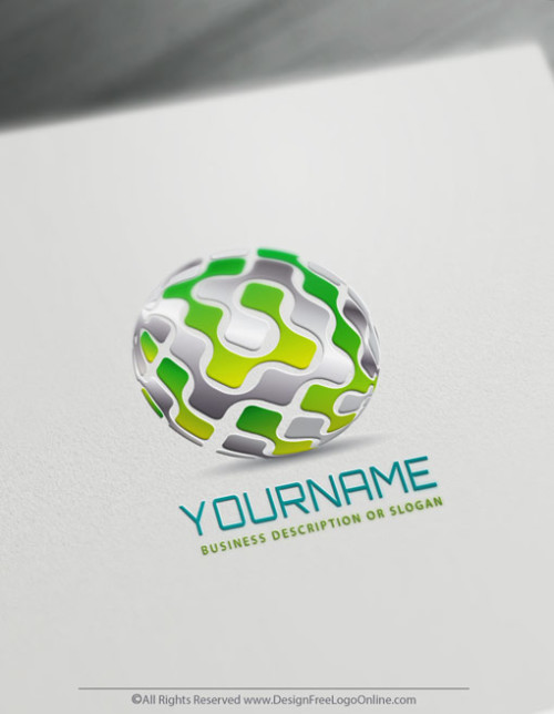 Create Your Own Online 3D Tech Logo Ideas in Minutes
