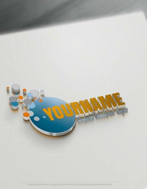 Online-Bubbles-Logo-Template
