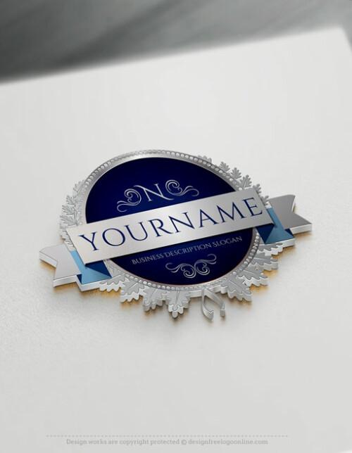 Online Vintage Logo Maker Alphabet Stamp Logo Template