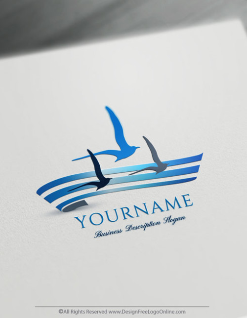 create your own Seagulls logo online?Browse our logo maker shop and choose the best free logo design templates for your business.