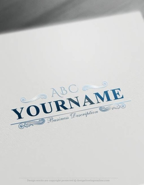 create-a-logo-Free-abc-Logo Initials Logo Templates