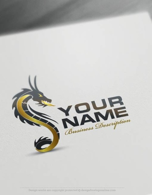 Create a Logo Free - Create your own Dragon Logo Templates
