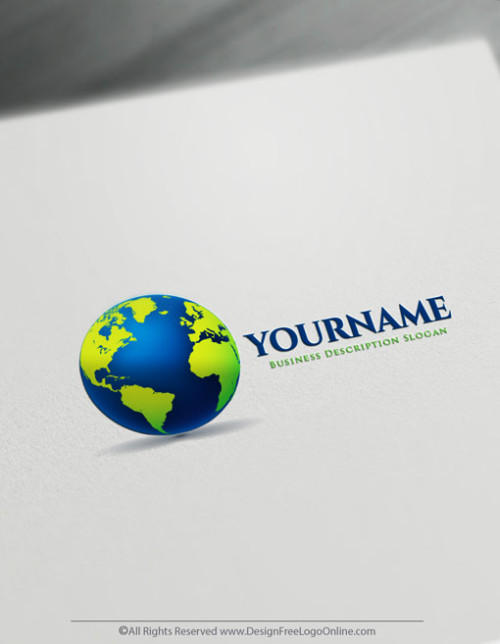 Online Simple Globe logo making never been easier using the Logo Maker app.