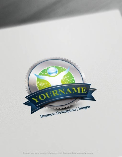 00324-Free-logo-maker---Cleaning-Logo-Templates