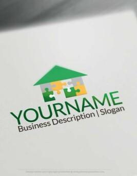 00619-Puzzle-house-design-free-logos-online2