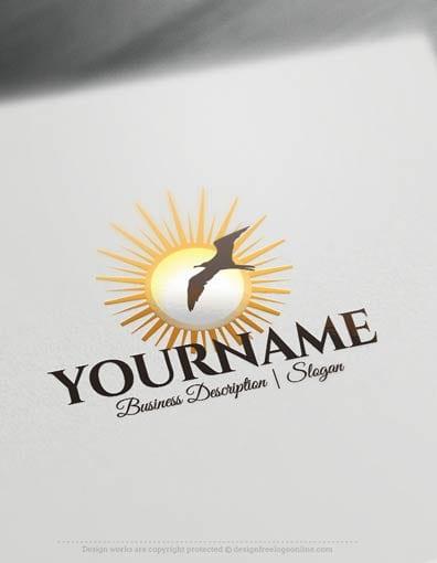 00622-Seagull-Sunset-design-free-logos-online2