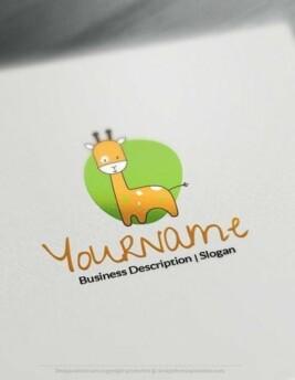 00629-Giraffe-design-free-logos-online2