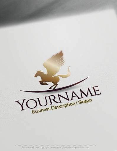 00653-Pegasus-drop-design-free-logos-online1
