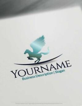 00653-Pegasus-drop-design-free-logos-online2