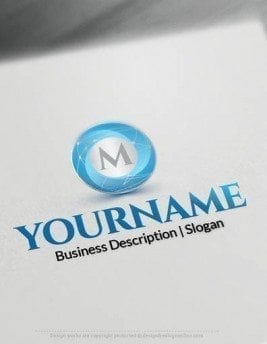 Easily customize this Initial Sphere logo Templates brand yourself with our free logo maker. Make logo designs no graphic designer skills.