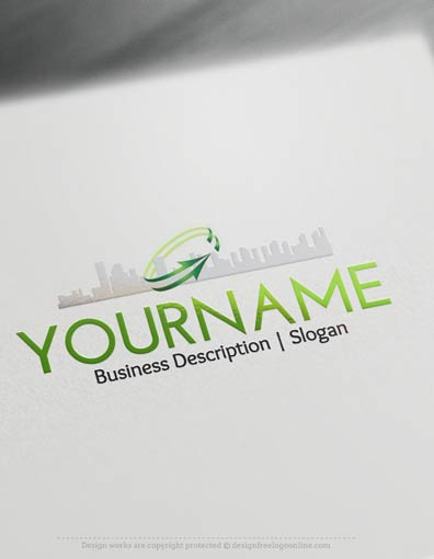 Easily customize this City Real Estate logo templates yourself with our free logo maker. Make your own logo designs online.