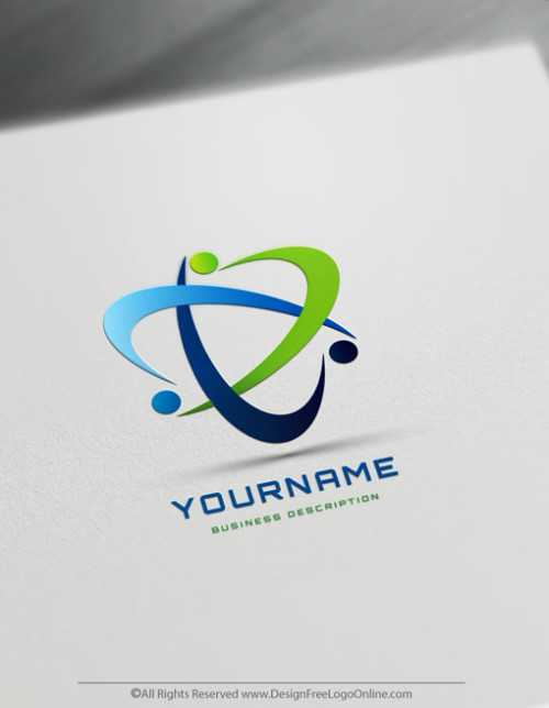 Create Online Group Of People Logo Design
